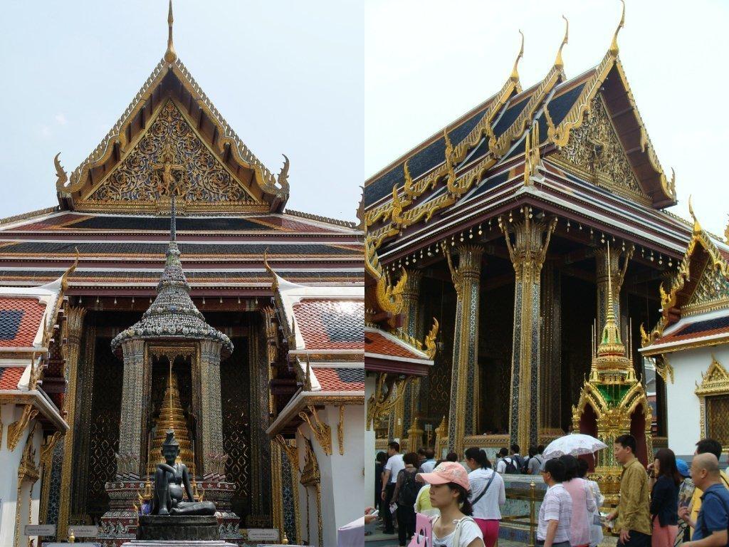 泰國曼谷大皇宮建築群拍照地:玉佛寺
