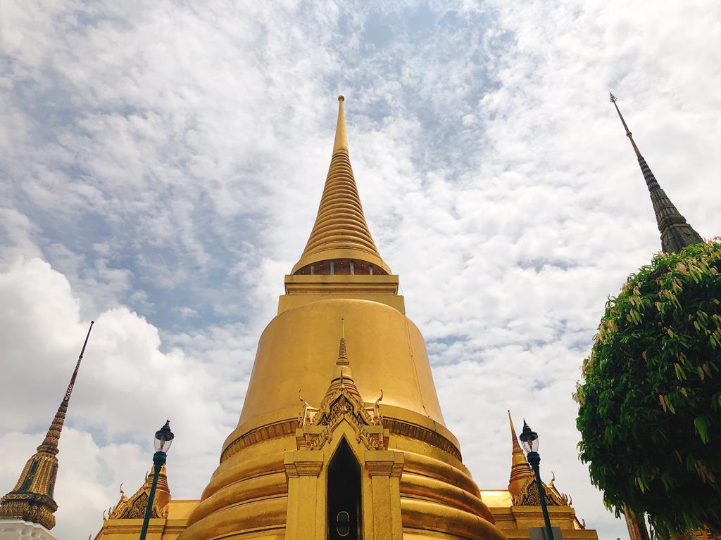 泰國曼谷大皇宮:大佛塔