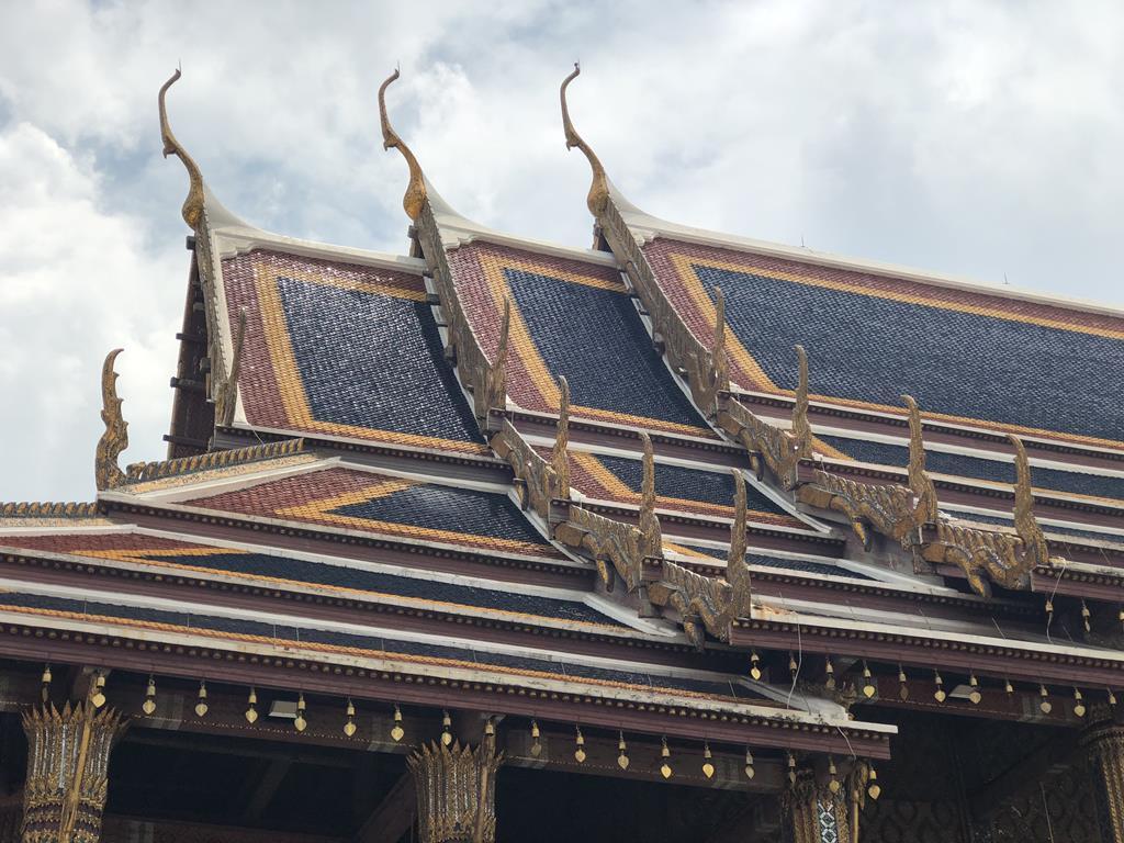 泰國曼谷大皇宮建築群拍照地:屋頂