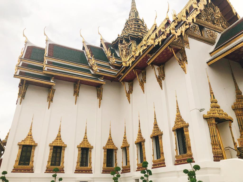 泰國曼谷大皇宮建築群拍照地:兜率殿