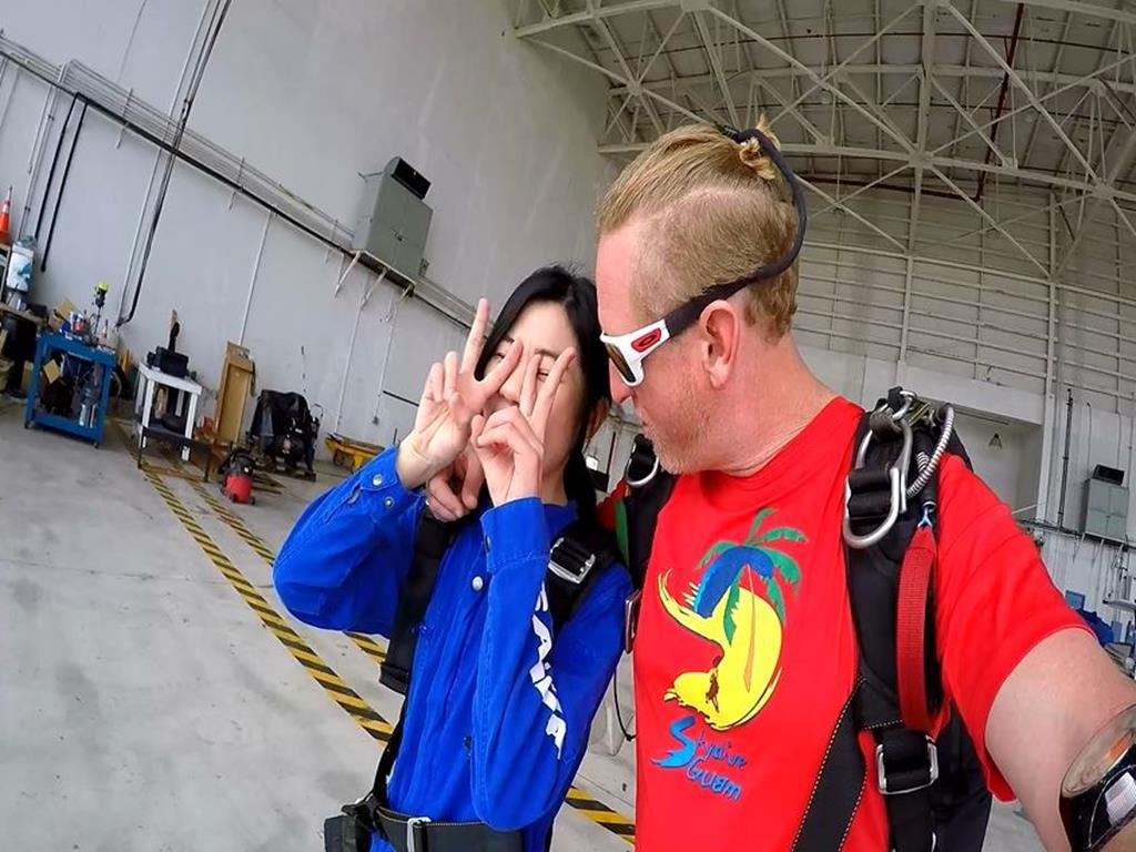 高空跳傘(Sky Diving):我與教練