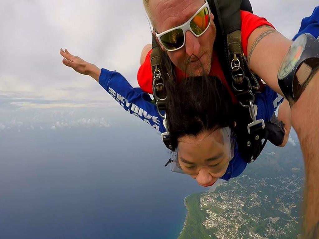 高空跳傘(Sky Diving):我正在飛行