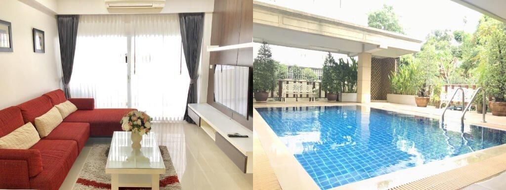 2019曼谷Asok站住宿推薦:14 Place Sukhumvit Suites(素坤逸廣場14號公寓式酒店)