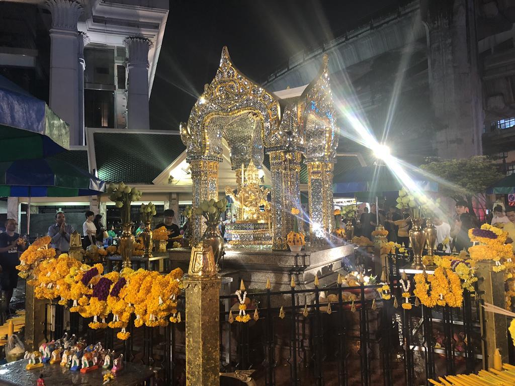 泰國曼谷暹羅市中心10大必去景點:04曼谷四面佛