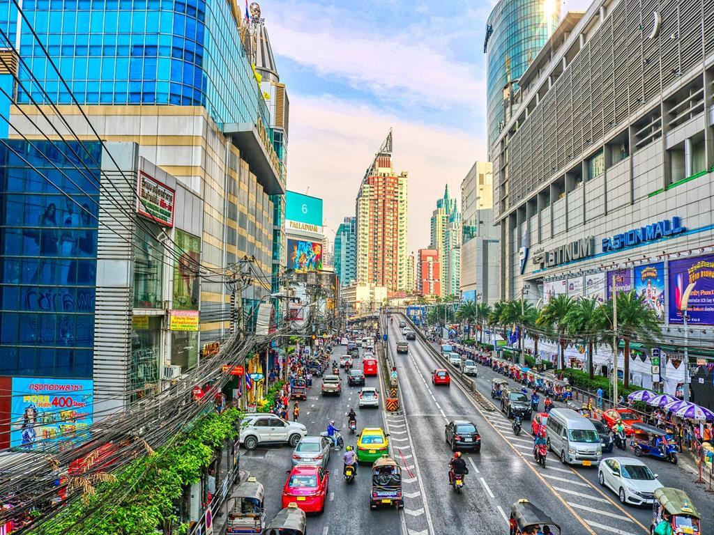 泰國曼谷暹羅市中心10大必去景點:05水門市場