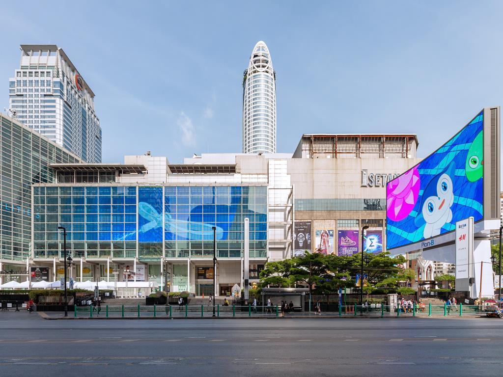 泰國曼谷暹羅市中心10大必去景點:08Central World_全貌