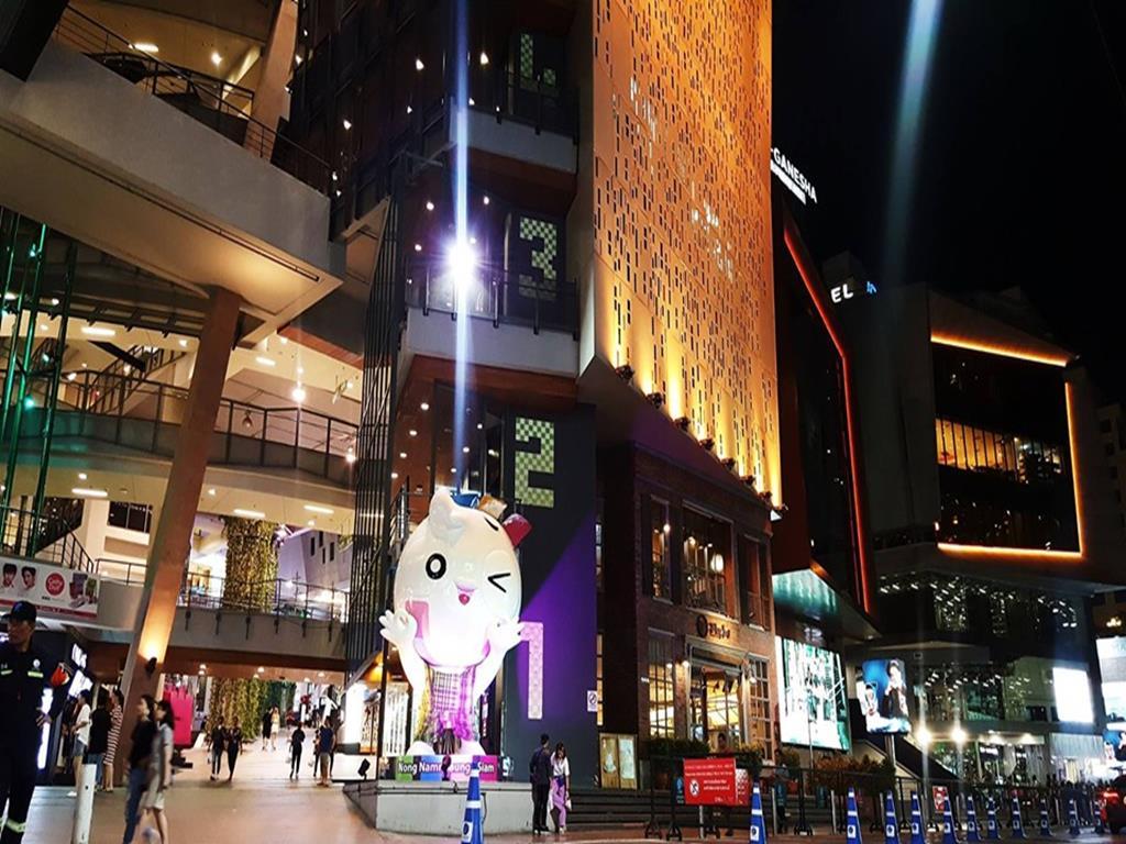 泰國曼谷暹羅市中心10大必去景點:09siam square one_廣場