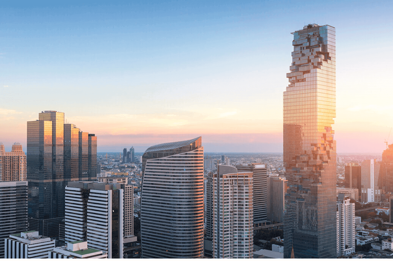 絕美天空步道就在曼谷王權玻璃天空步道Mahanakhon SkyWalk