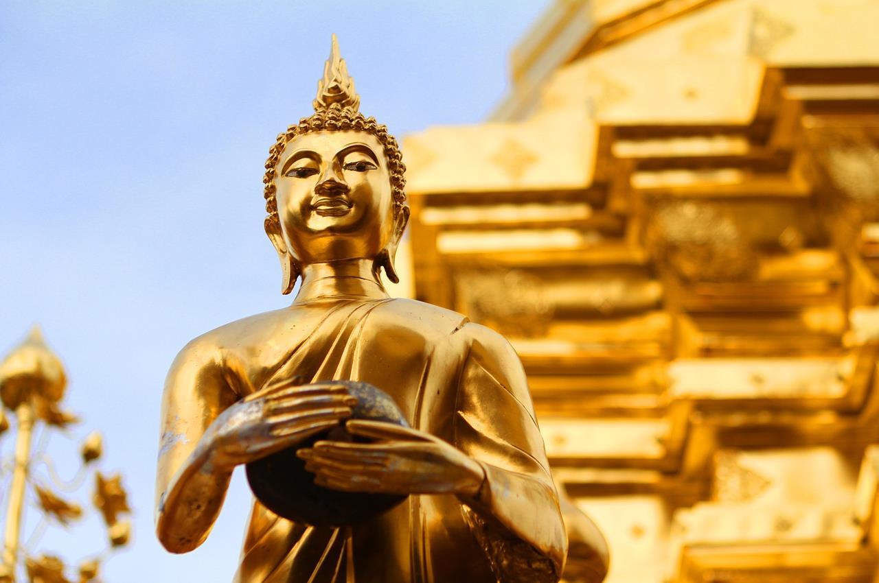 泰國曼谷│五大區域超強超完整地圖介紹-共36景點必看-佛像