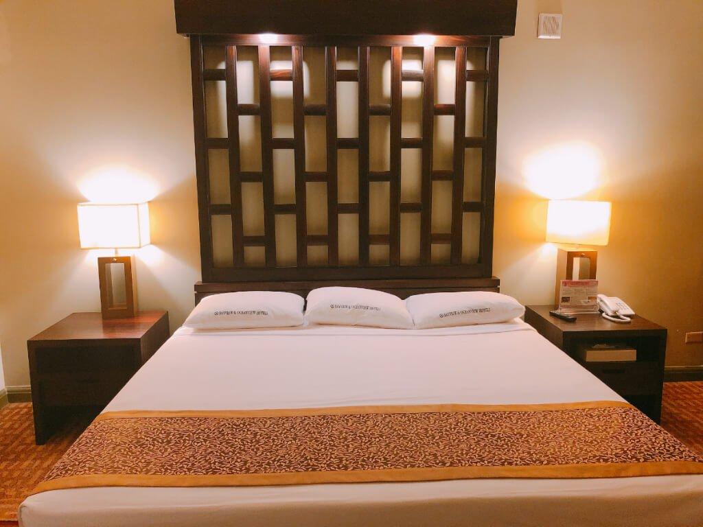 灣景飯店Bayview Hotel-床照