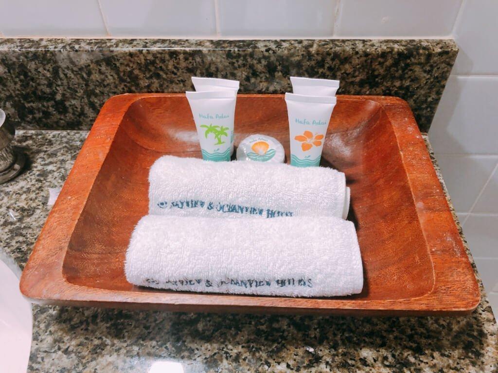 灣景飯店Bayview Hotel-浴室設備