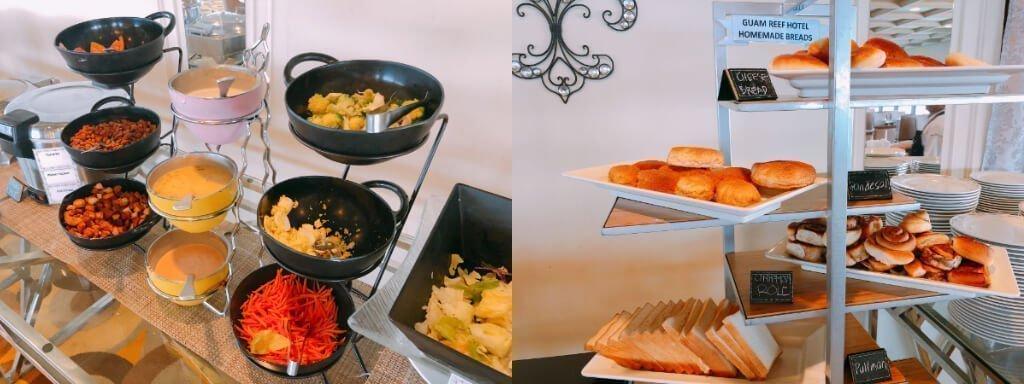 Reef Guam珊瑚礁飯店-早餐十分豐盛