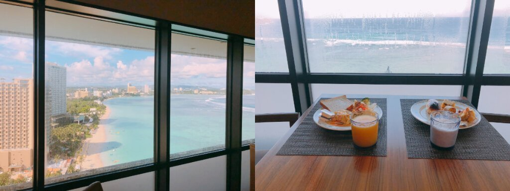Reef Guam珊瑚礁飯店-早餐用餐區