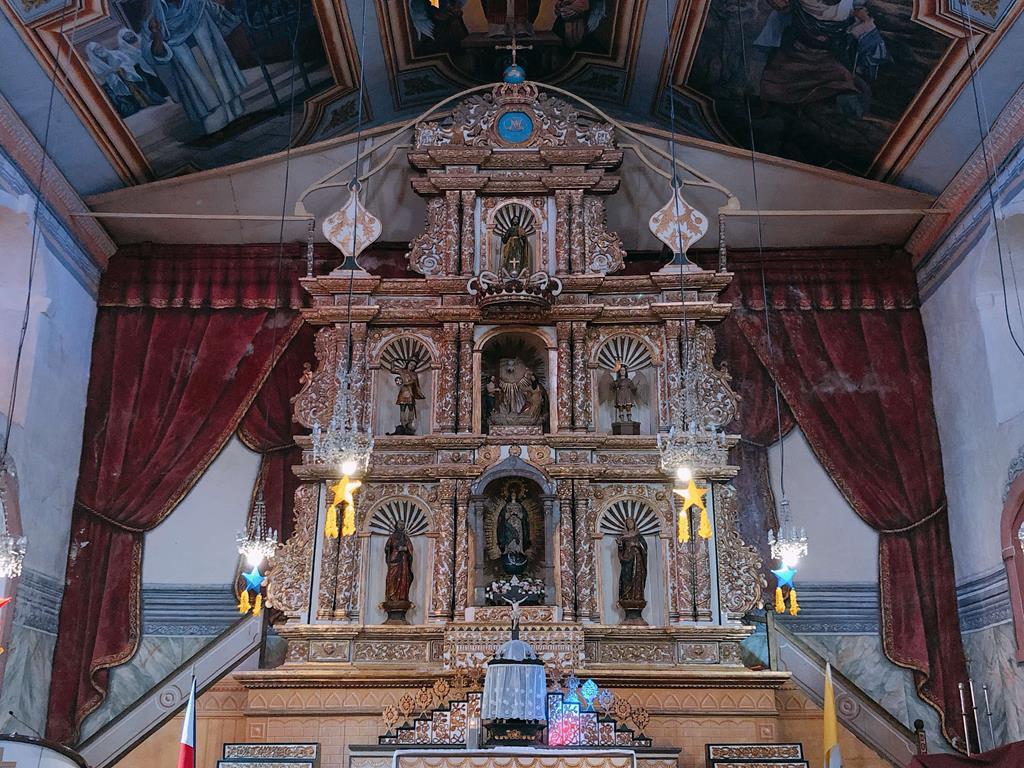 宿霧薄荷島自助一日遊_巴克雷揚教堂_亞洲最古老的教堂