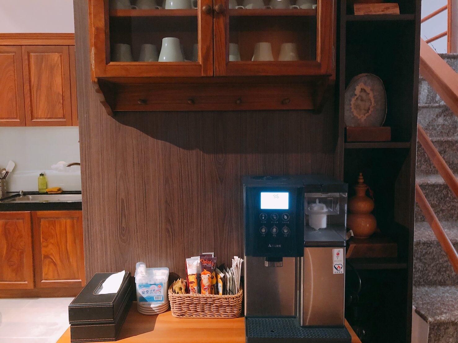 宜蘭三星民宿推薦-安農逸境特色介紹-咖啡機