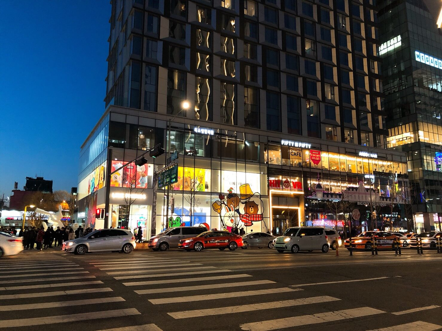 首爾住宿推薦_弘大L7樂天飯店好評介紹_地理位置