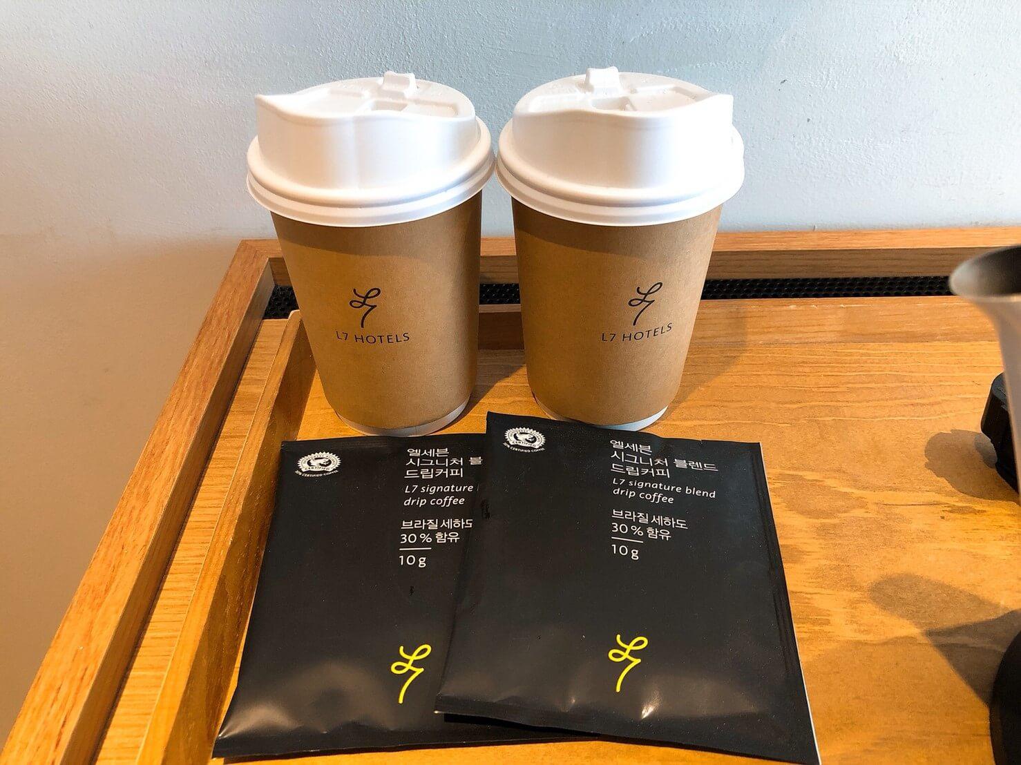 首爾住宿推薦_弘大L7樂天飯店好評介紹_附濾掛式咖啡