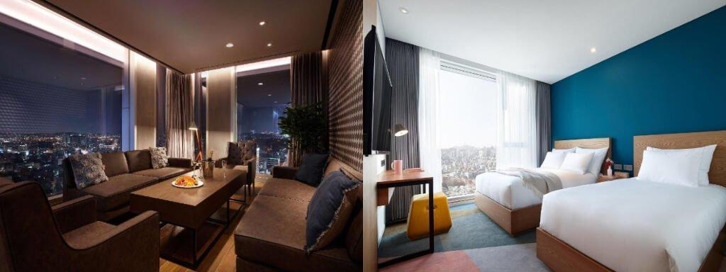 韓國首爾弘大住宿6間推薦-機場直達、CP值高、交通機能好、特色介紹-L7弘大酒店介紹